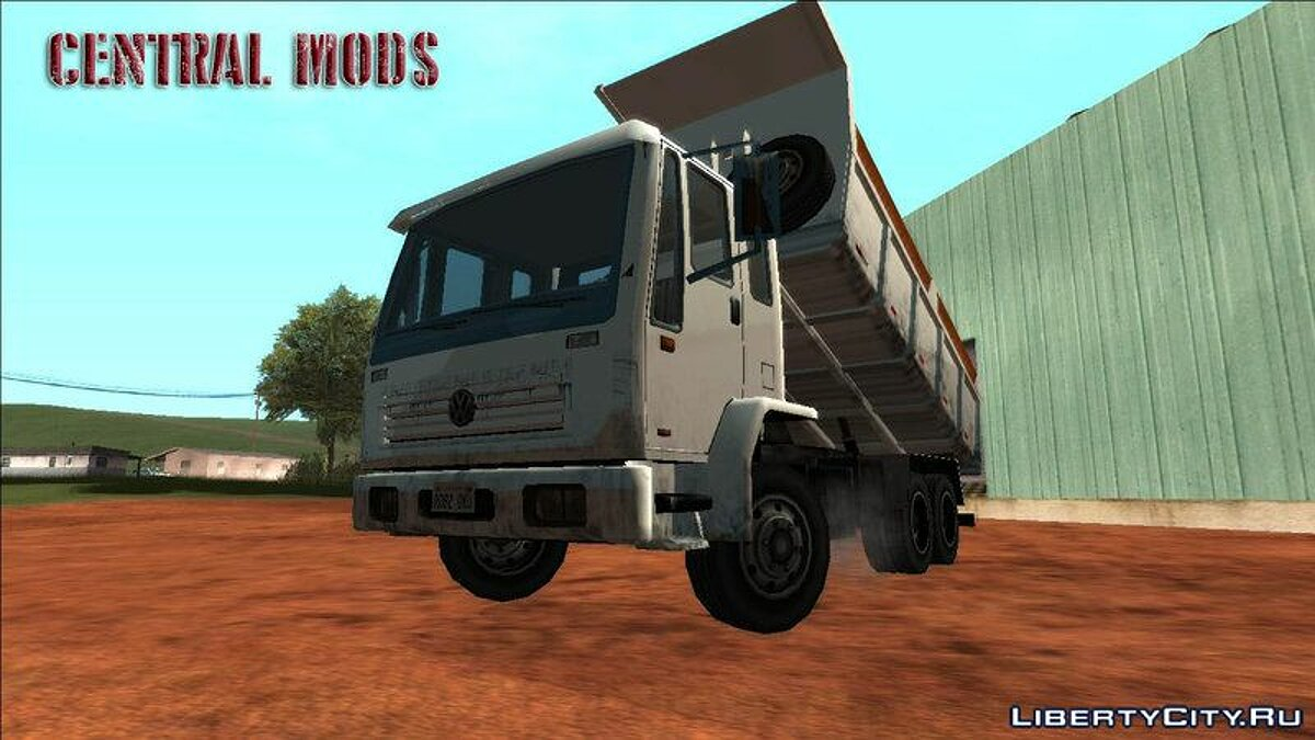 Truck VW 16200 Dump Truck for GTA San Andreas