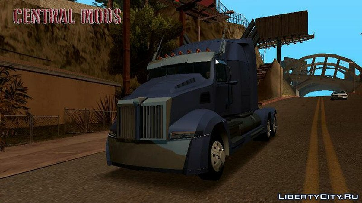 Truck Western Star 5700 XE for GTA San Andreas