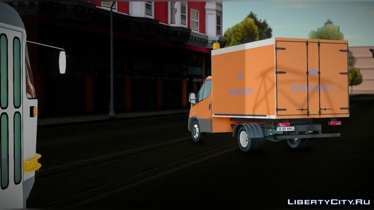 Truck Iveco Daily Interventii STB for GTA San Andreas