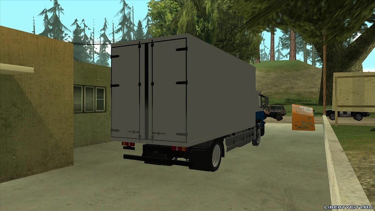 Truck Volvo FM12 Booth for GTA San Andreas