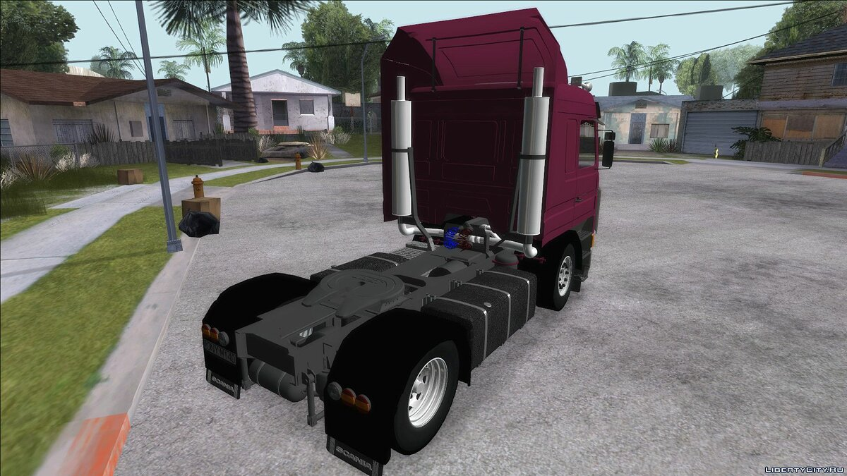 Truck Scania 143M for GTA San Andreas