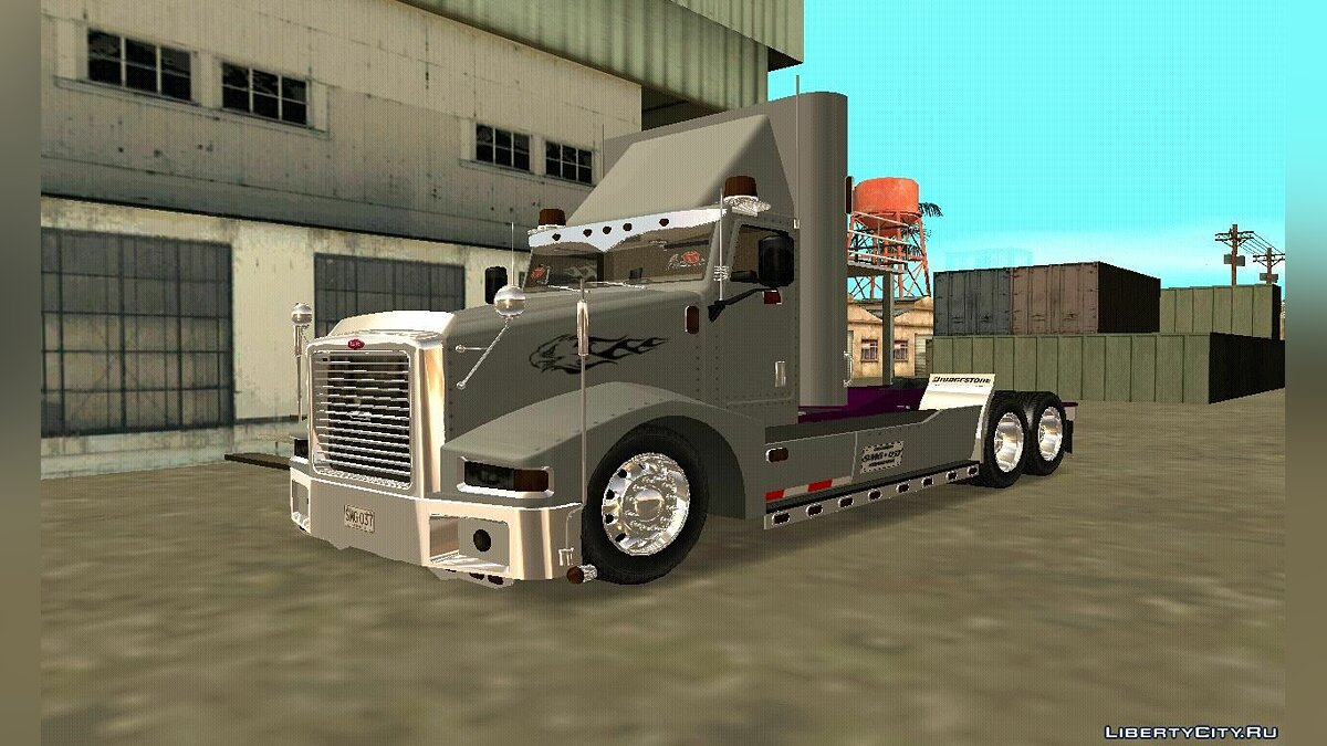 Truck Peterbilt 385 for GTA San Andreas