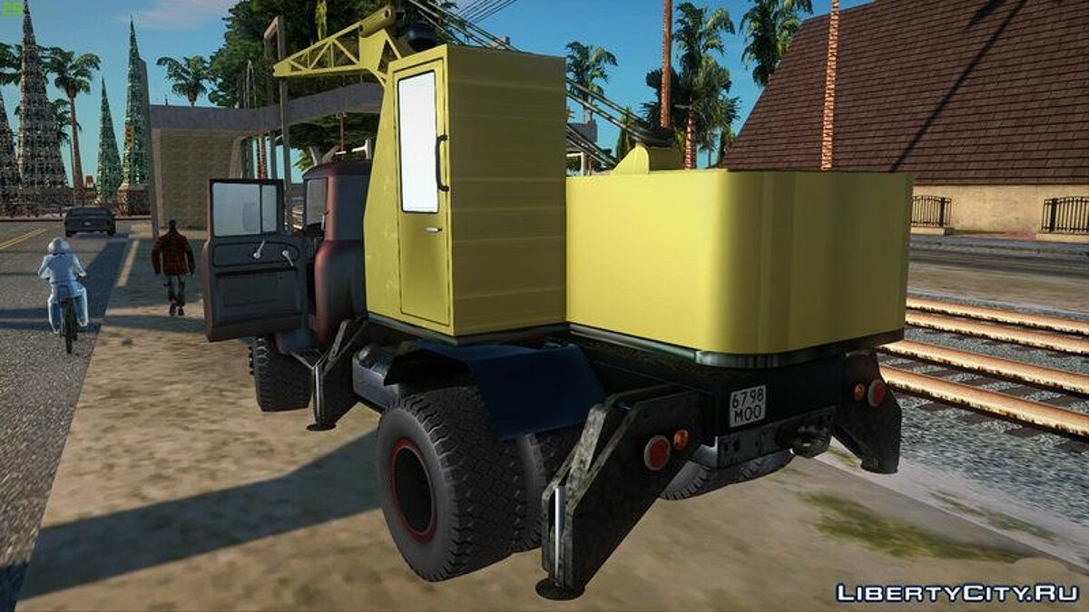 Truck ZIL 130 K25 for GTA San Andreas