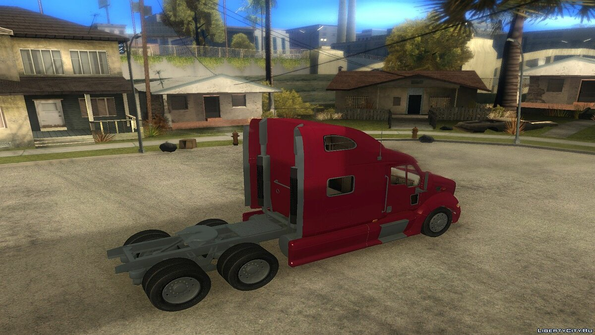 Truck Peterbilt 387 2011 for GTA San Andreas