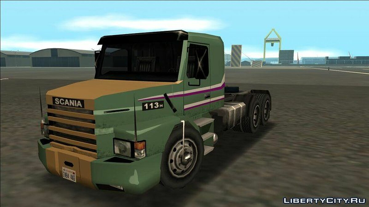 Truck Scania 113H SA Style for GTA San Andreas