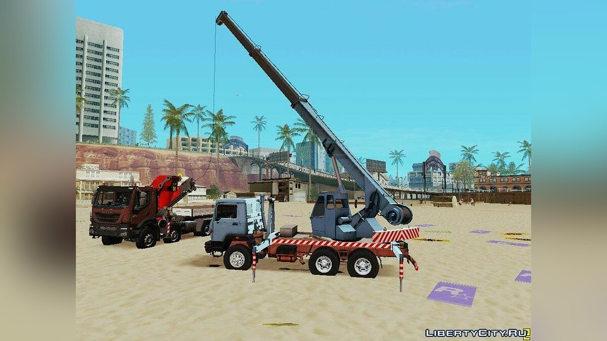 Truck Special Machines Collection for GTA San Andreas