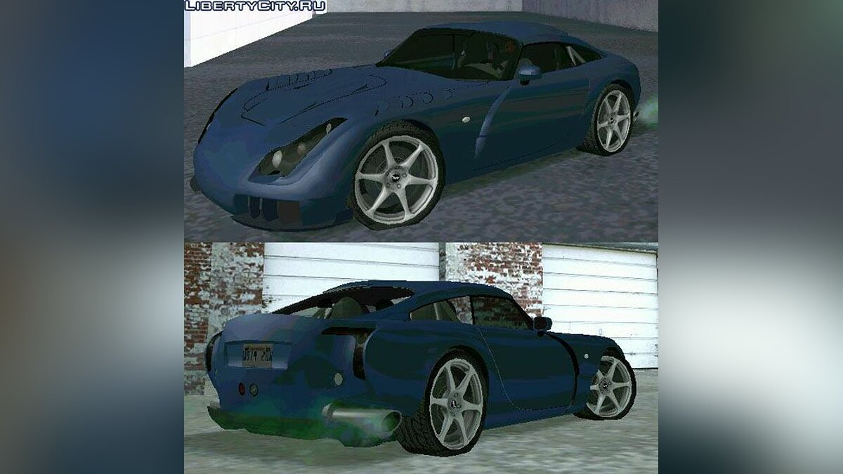TVR car TVR Sagaris for GTA San Andreas