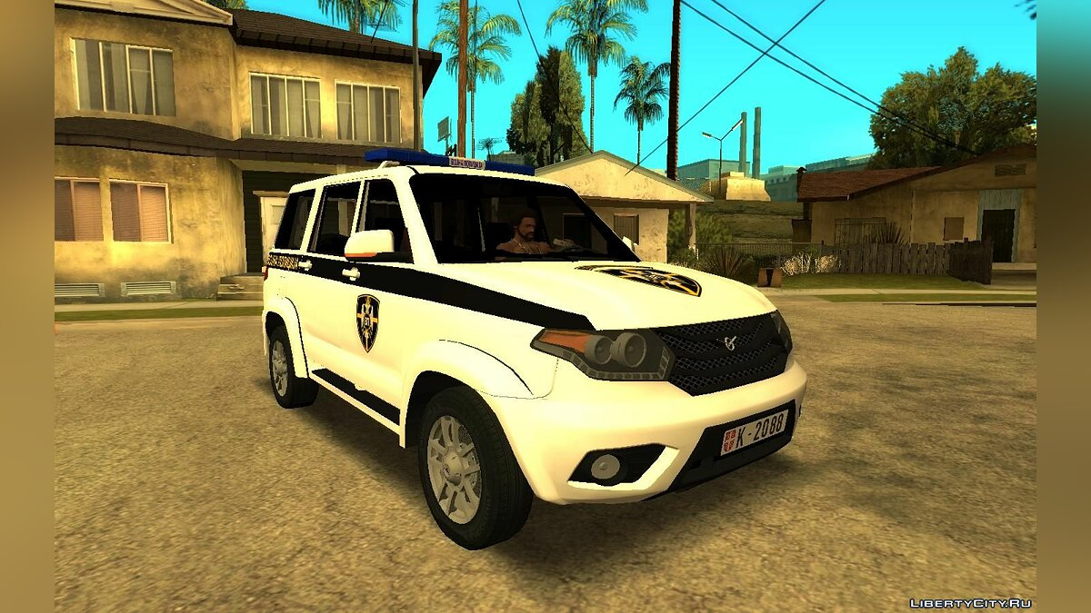 UAZ car UAZ Patriot Serbian Military Police for GTA San Andreas
