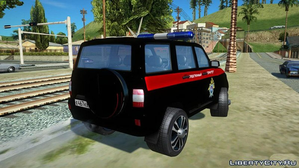 UAZ car UAZ Patriot (Facelift II) the Investigation Committee for GTA San Andreas
