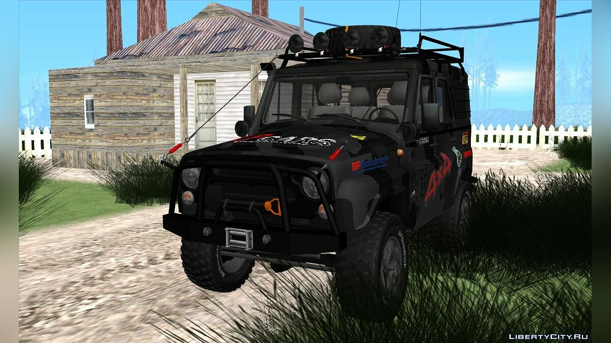 UAZ car UAZ Hunter for GTA San Andreas