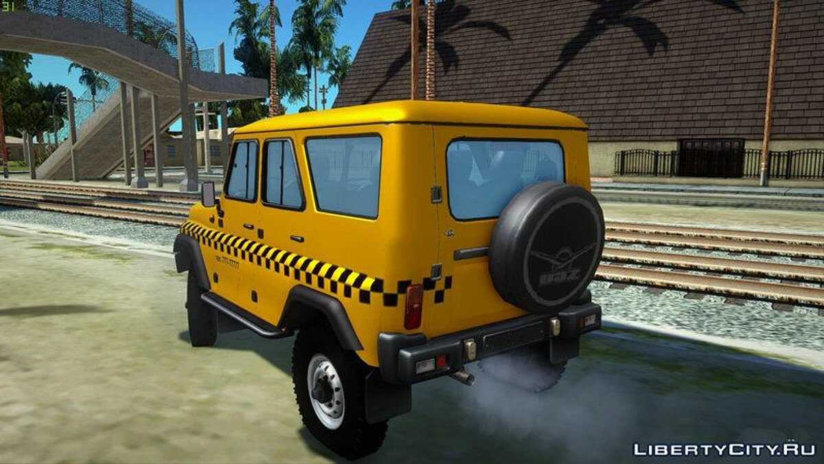 UAZ car UAZ Hunter Taxi for GTA San Andreas