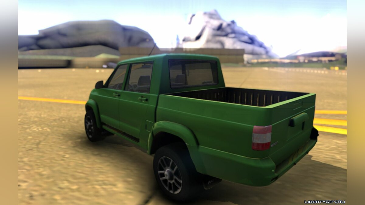 UAZ car UAZ Pickup 2018 for GTA San Andreas