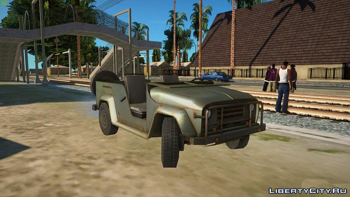 UAZ car UAZ MGS5 TPP for GTA San Andreas