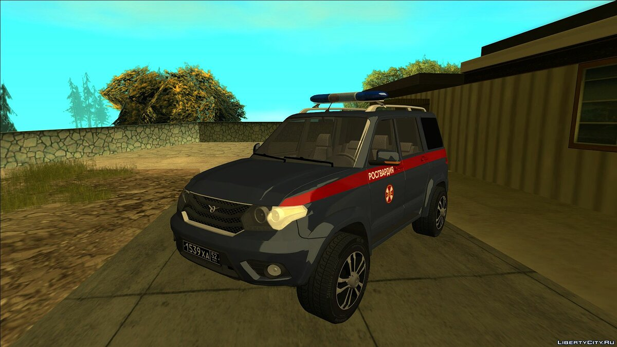 UAZ car UAZ Patriot (National Guard, max set) for GTA San Andreas