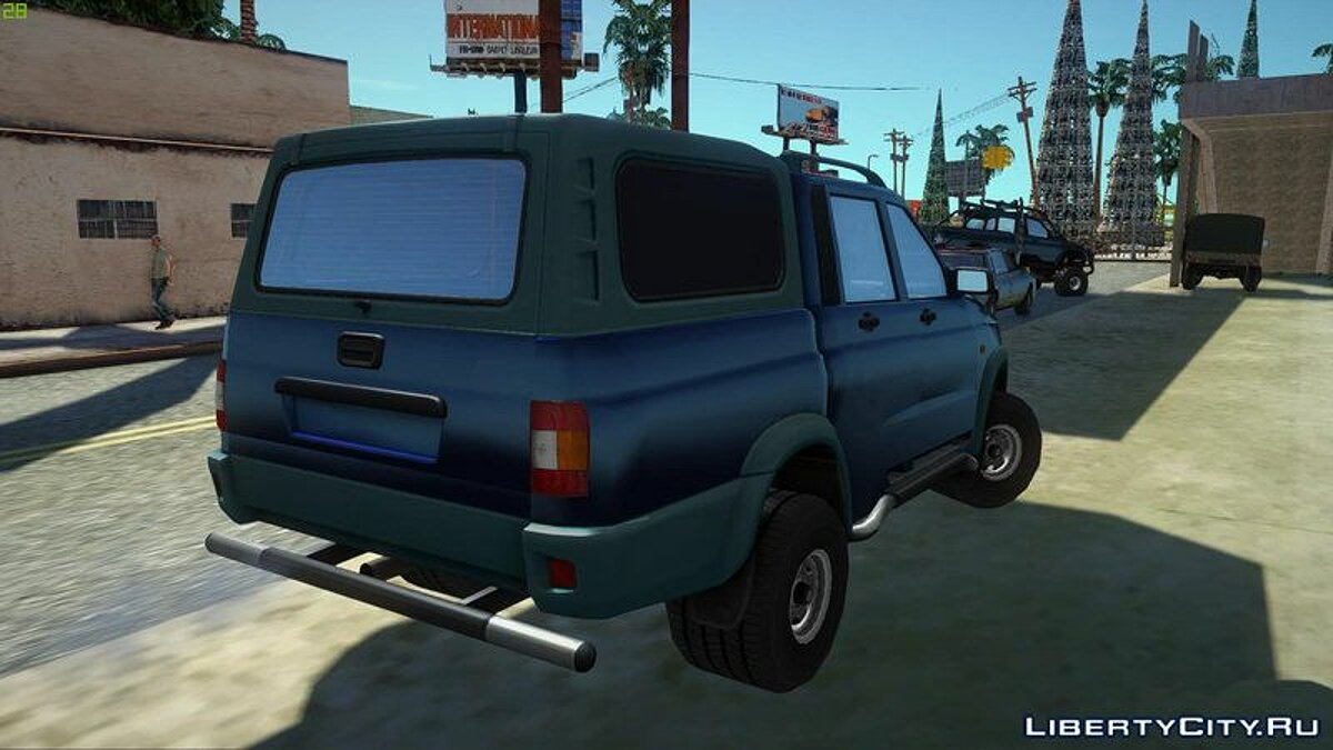 UAZ car UAZ 23632 for GTA San Andreas
