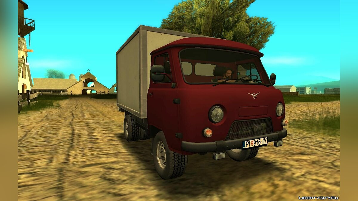 UAZ car UAZ 3303B for GTA San Andreas