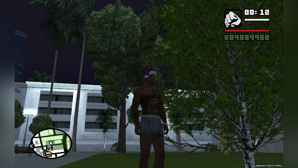 Skin Gray Panties for GTA San Andreas