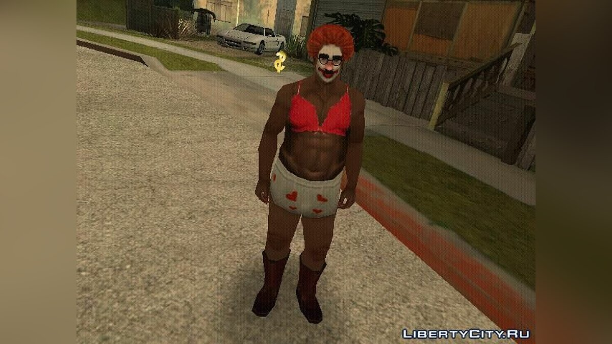 Skin Bra for Carl for GTA San Andreas