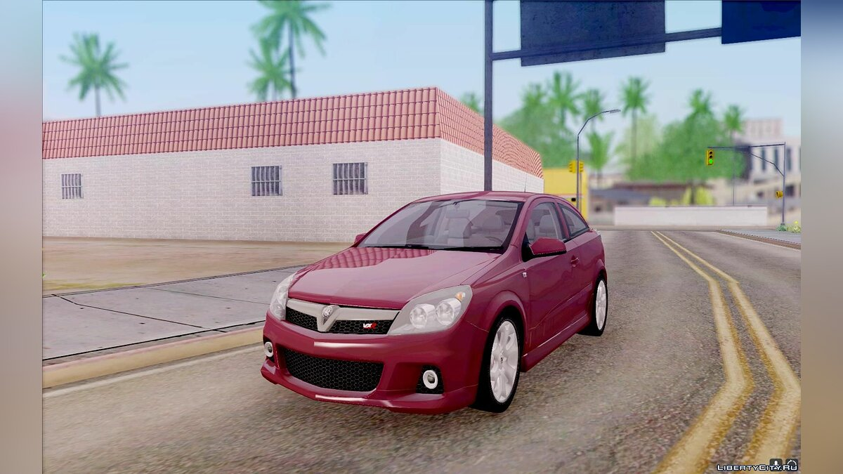 Vauxhall car Vauxhall Astra VXR 2007 for GTA San Andreas