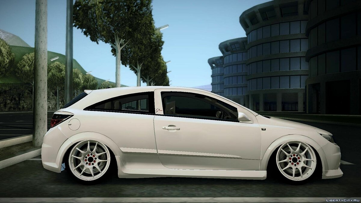 Vauxhall car Vauxhall Astra VXR Tuned for GTA San Andreas