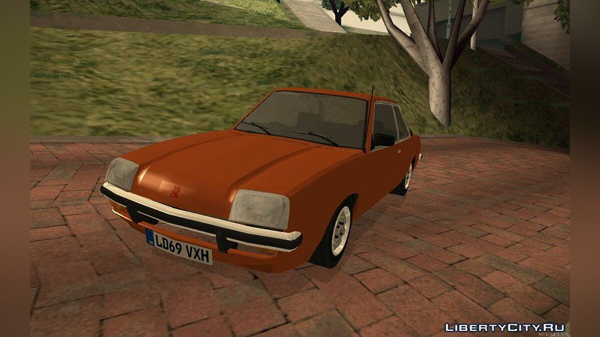 Vauxhall car Vauxhall Cavalier MK1 sedan 2 door for GTA San Andreas