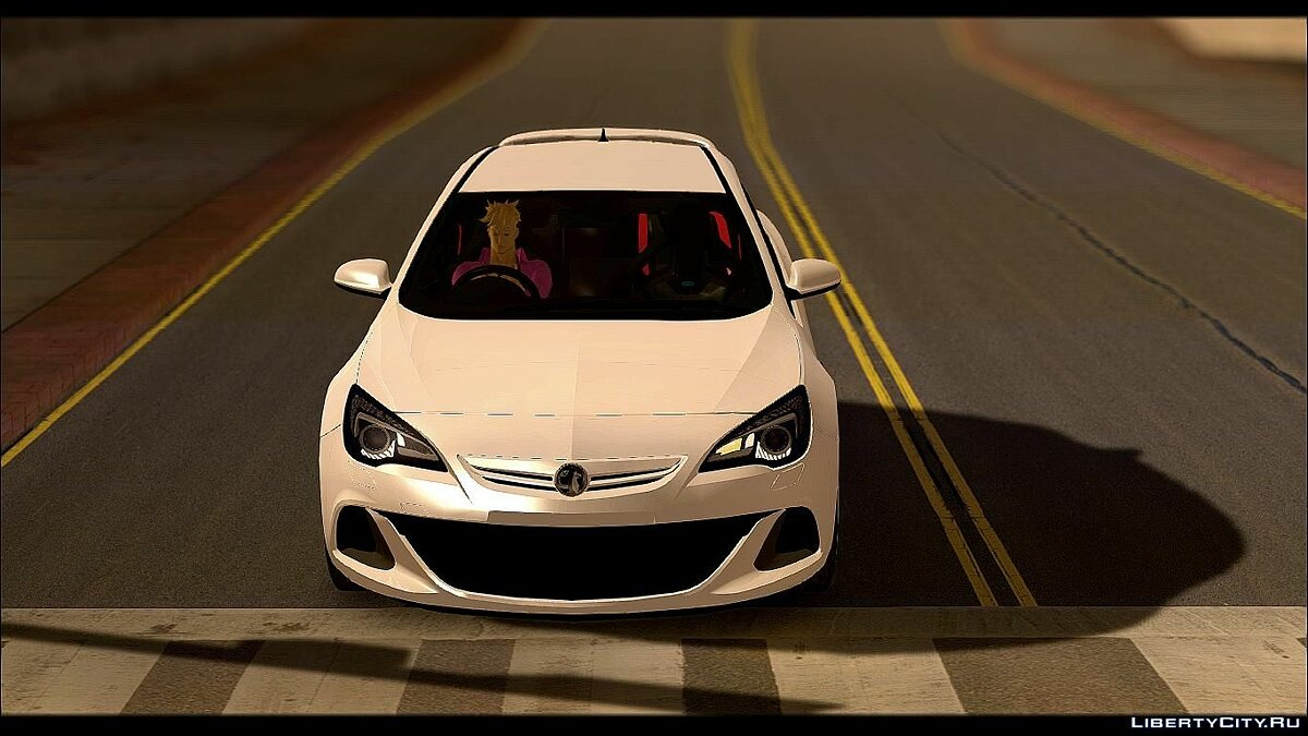Vauxhall car 2012 Vauxhall Astra VXR for GTA San Andreas
