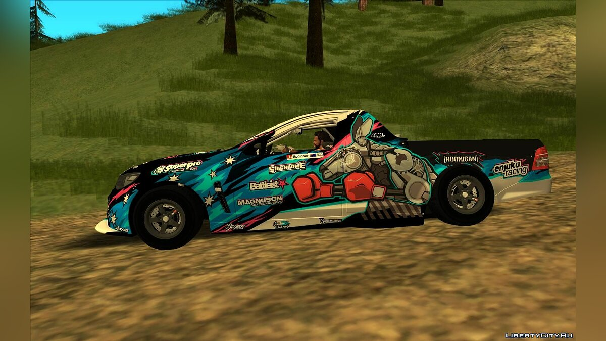 Vauxhall car 2012 Vauxhall VXR8 Maloo [NASCAR] for GTA San Andreas