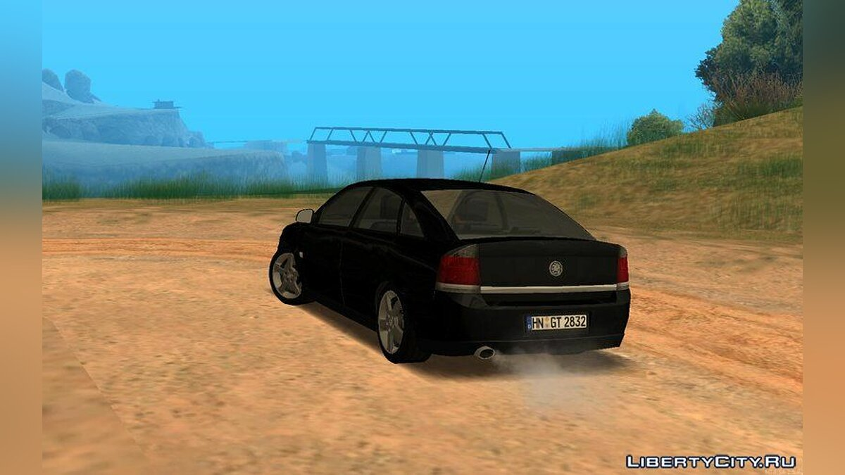 Vauxhall car Vauxhall Vectra C cc for GTA San Andreas