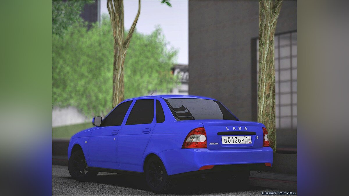 VAZ car VAZ 2170 for GTA San Andreas