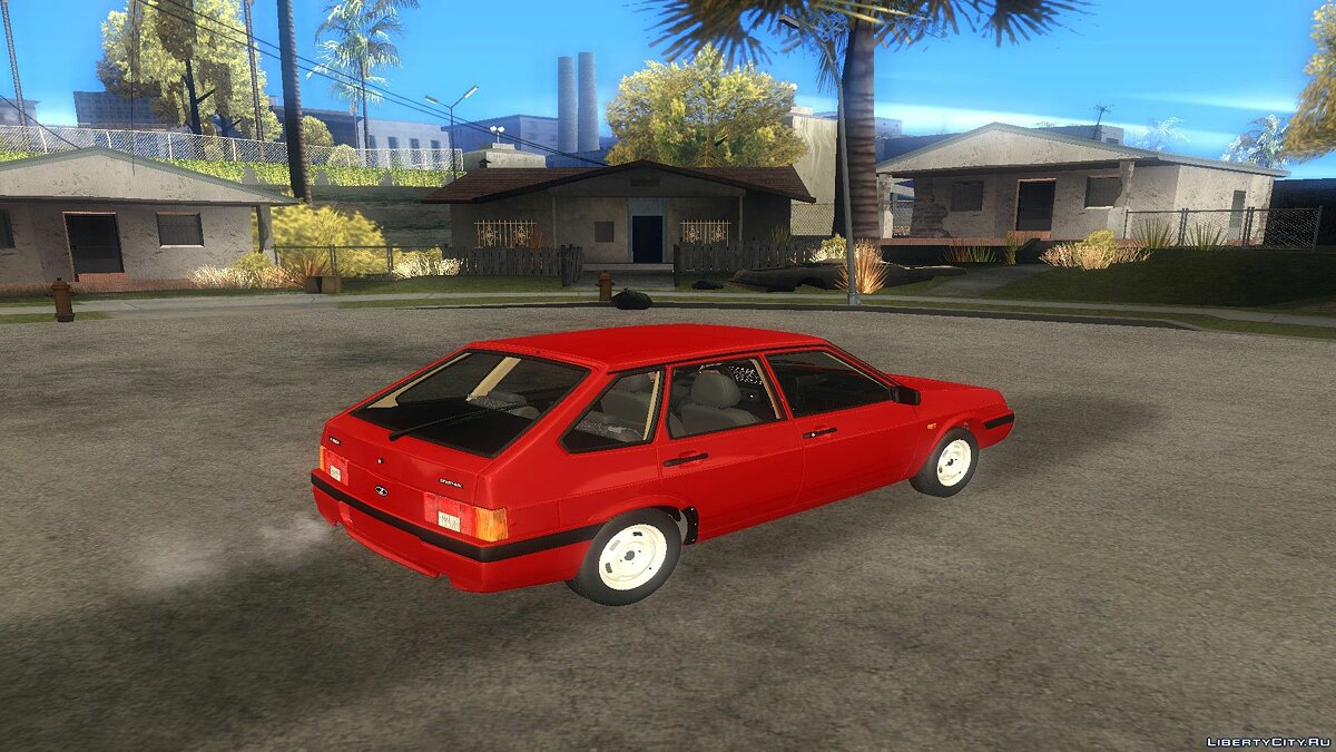 VAZ car Vaz 2109 for GTA San Andreas