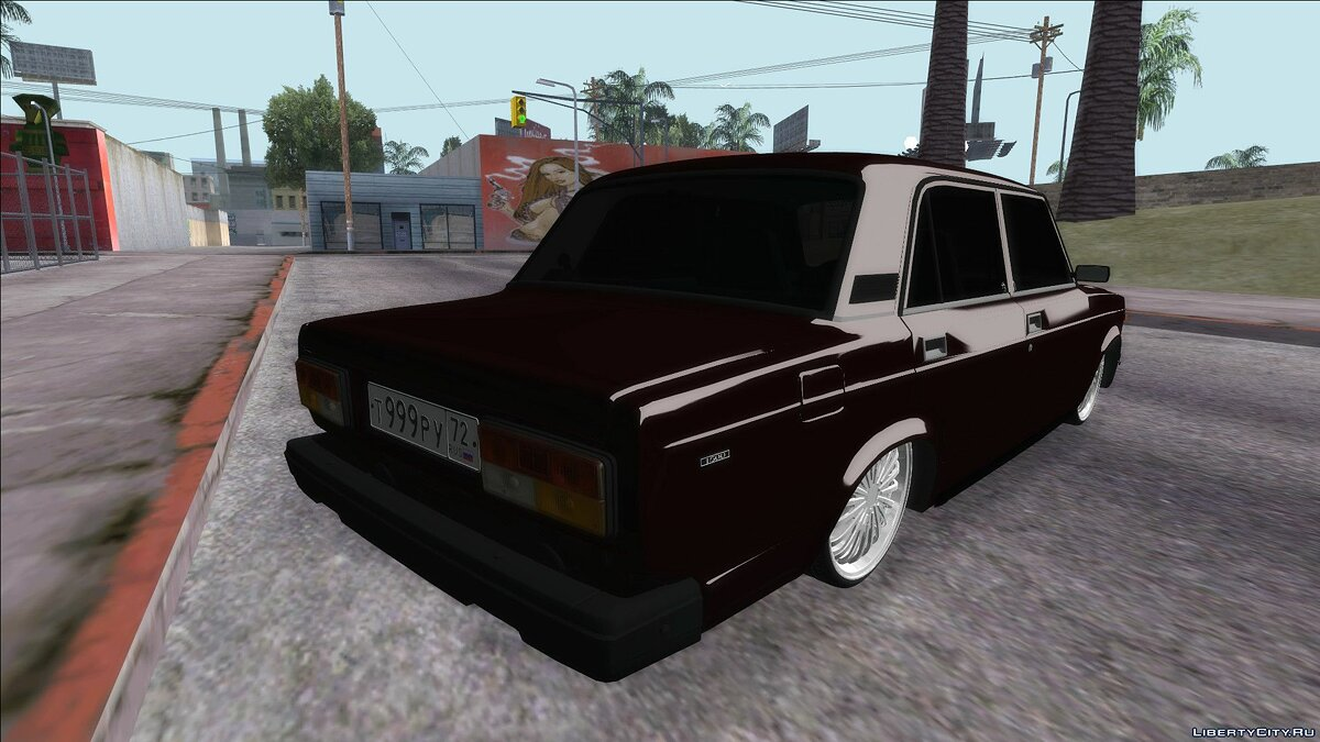 VAZ car VAZ 2107 for GTA San Andreas