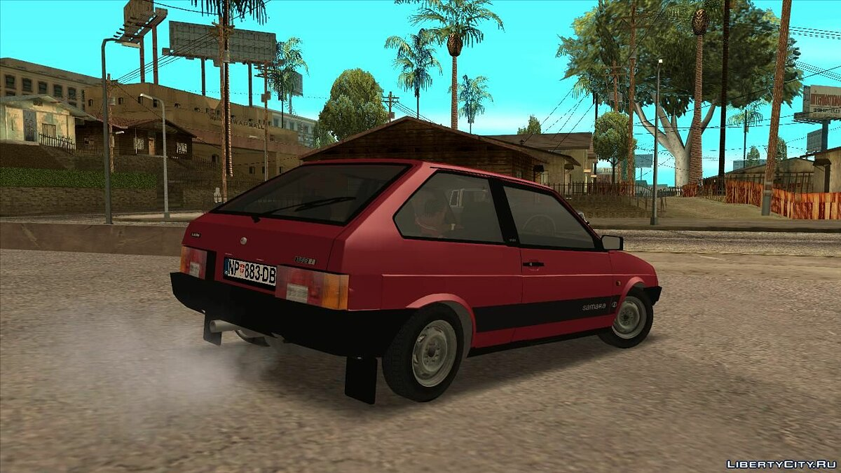 VAZ car Lada samara for GTA San Andreas