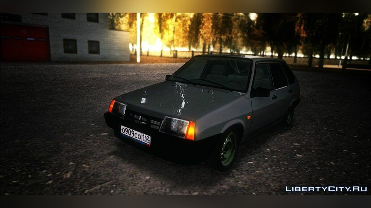 VAZ car VAZ-2109 for GTA San Andreas