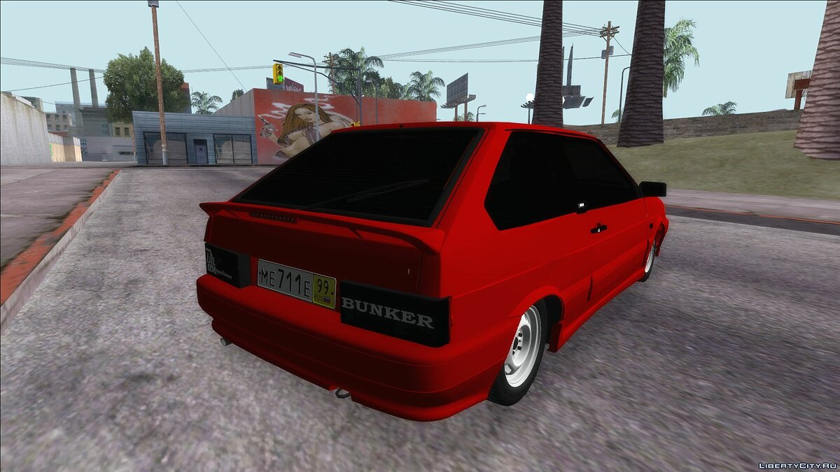 VAZ car VAZ 2113 for GTA San Andreas
