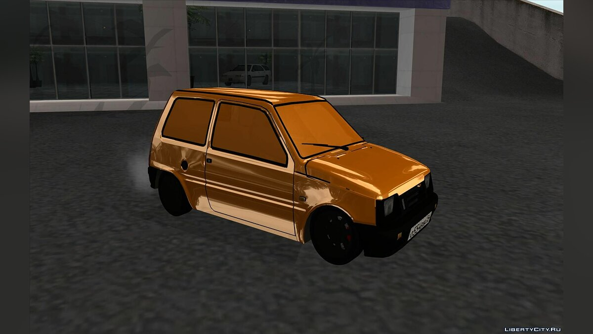 VAZ 1111 GOLD for GTA San Andreas - Картинка #1