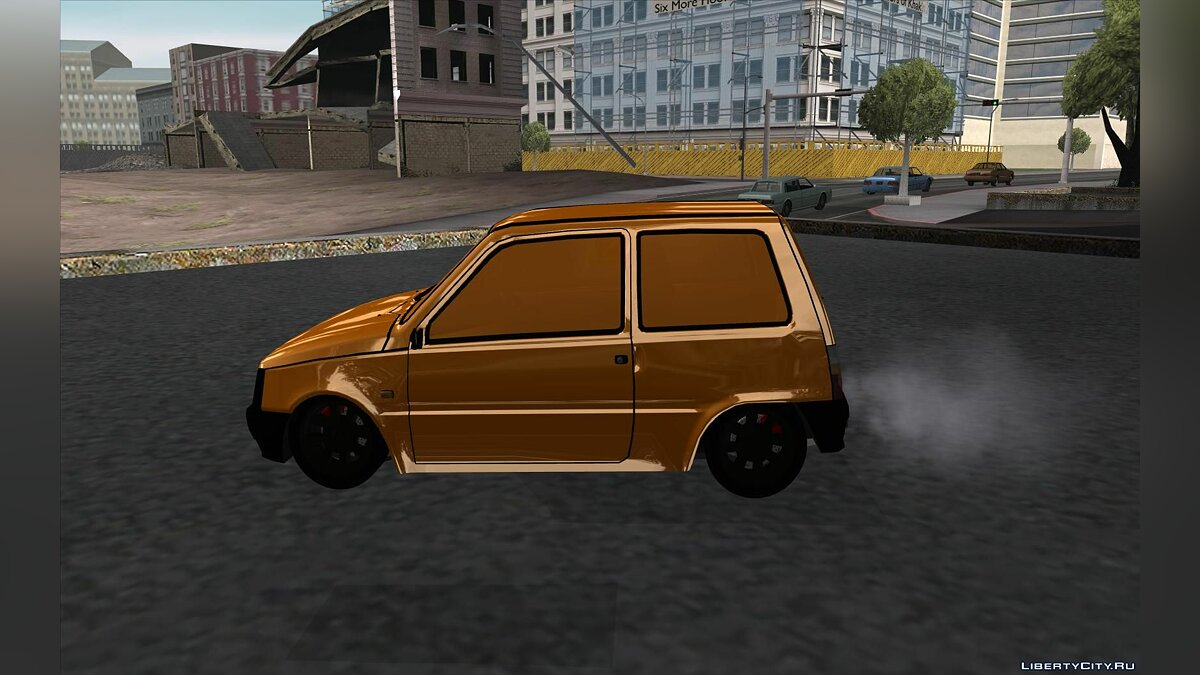 VAZ 1111 GOLD for GTA San Andreas - Картинка #2