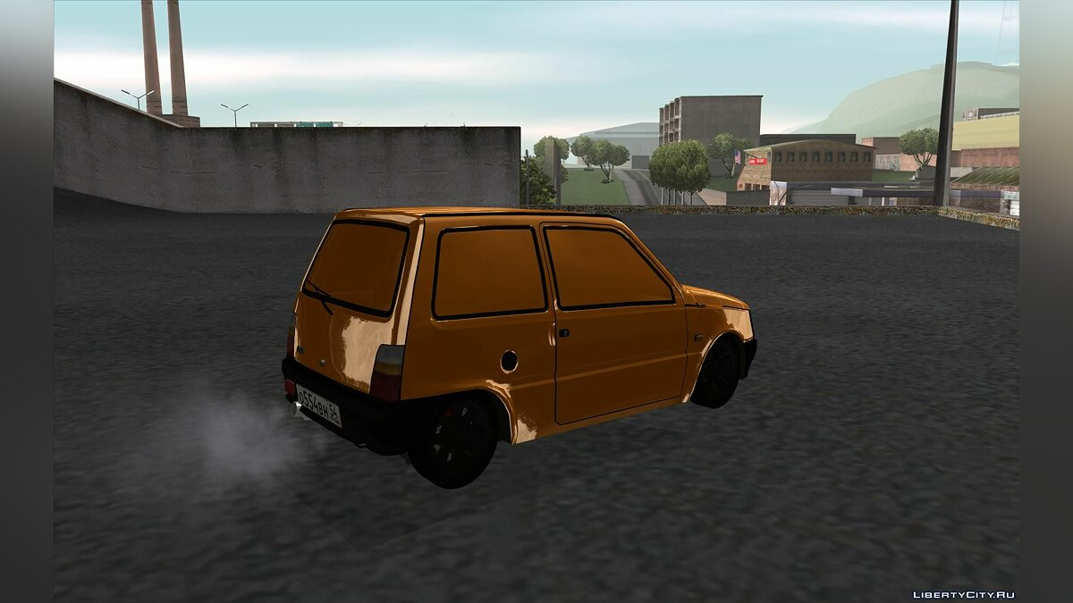 VAZ 1111 GOLD for GTA San Andreas - Картинка #3