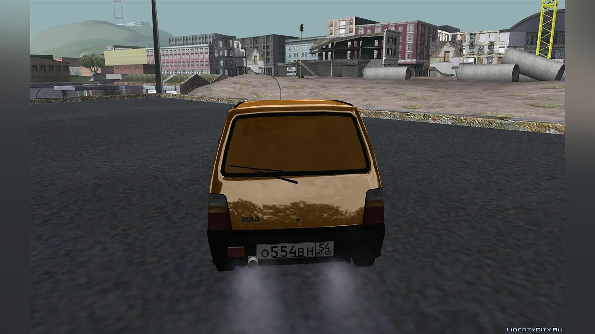 VAZ 1111 GOLD for GTA San Andreas - Картинка #4