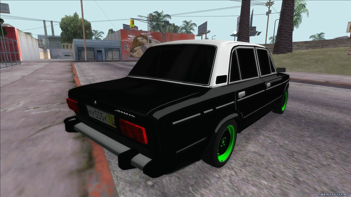 VAZ car VAZ 2106 for GTA San Andreas