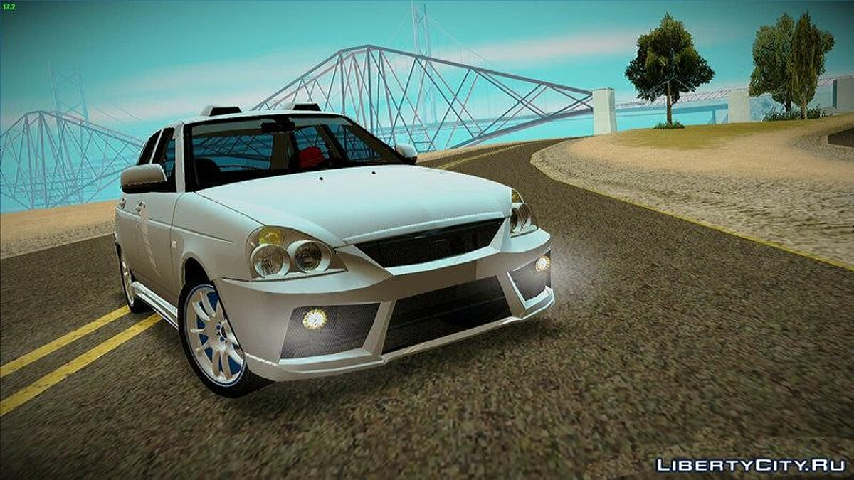 VAZ car Tuned Lada 2170 Priora for GTA San Andreas