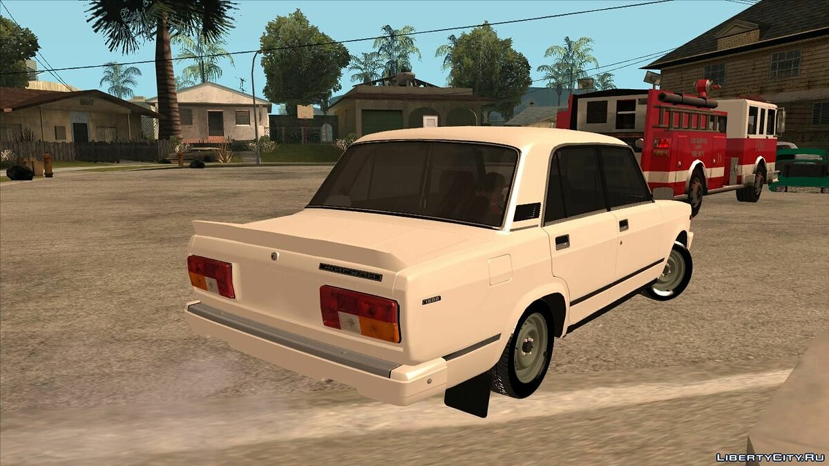 VAZ car VAZ 2105 as in the movie & quot; The daughter of a cop & quot; for GTA San Andreas