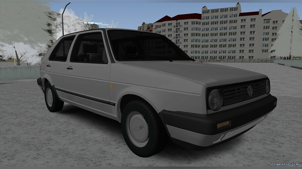 Volkswagen car Volkswagen Golf II for GTA San Andreas