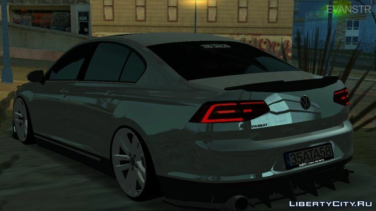 Volkswagen car Volkswagen Passat for GTA San Andreas