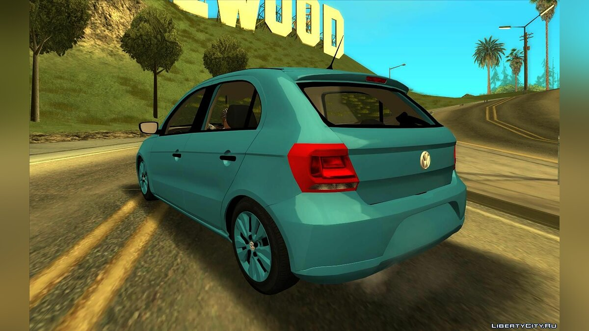 Volkswagen car Volkswagen Gol Trend G7 v1 for GTA San Andreas