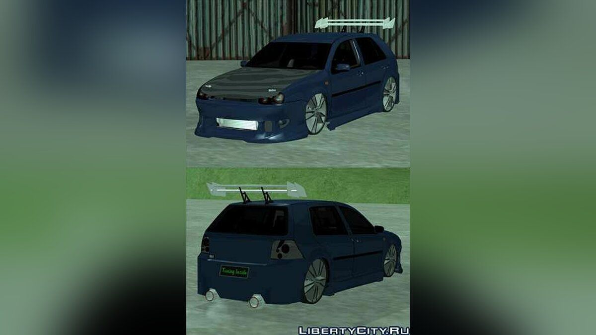VW Golf Tuning for GTA San Andreas