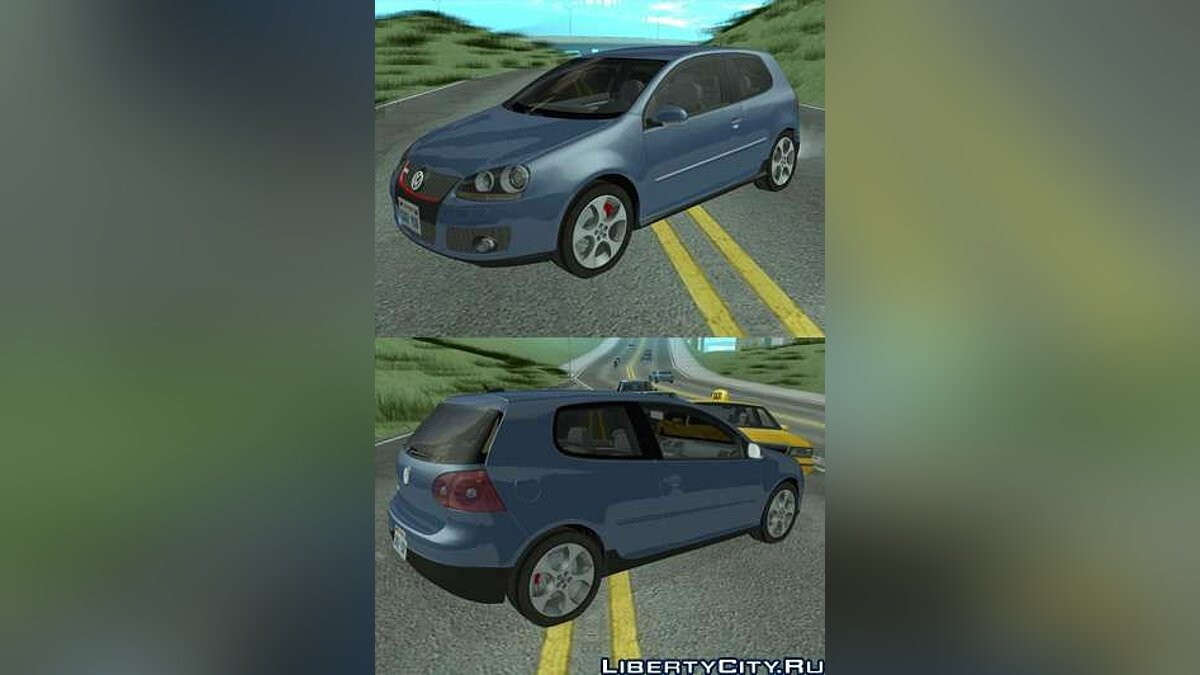 VW GOLF V GTI for GTA San Andreas