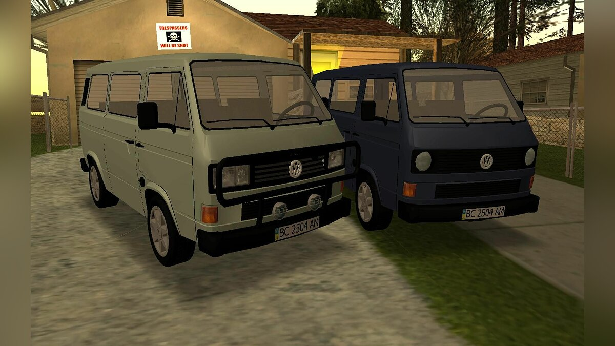Volkswagen Transporter T3 for GTA San Andreas - Картинка #1