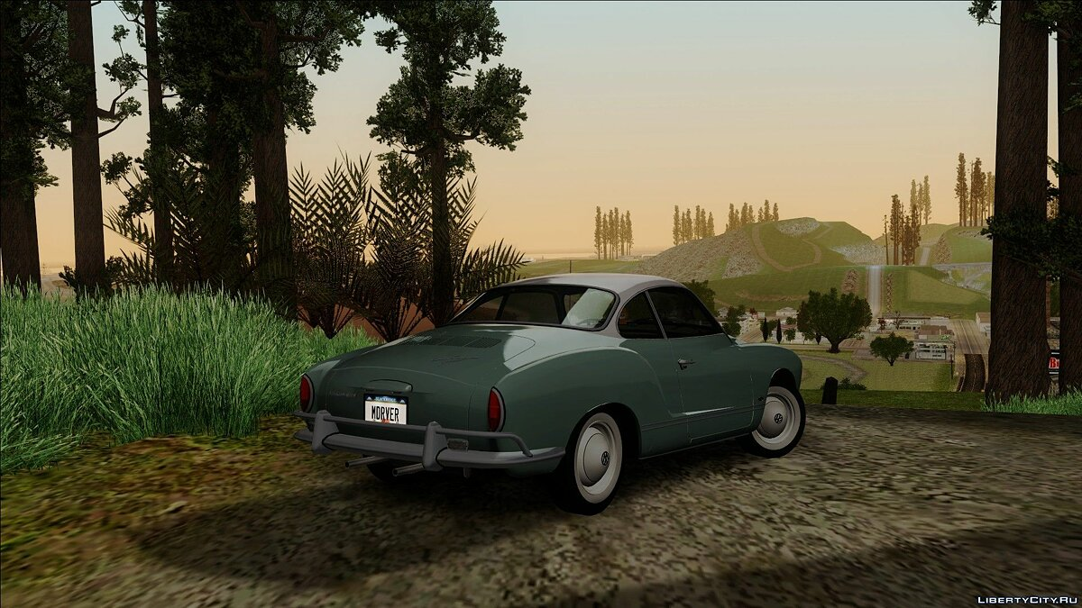 Volkswagen car Volkswagen Karmann-Ghia Coupe (Typ 14) 1967 1.1 for GTA San Andreas