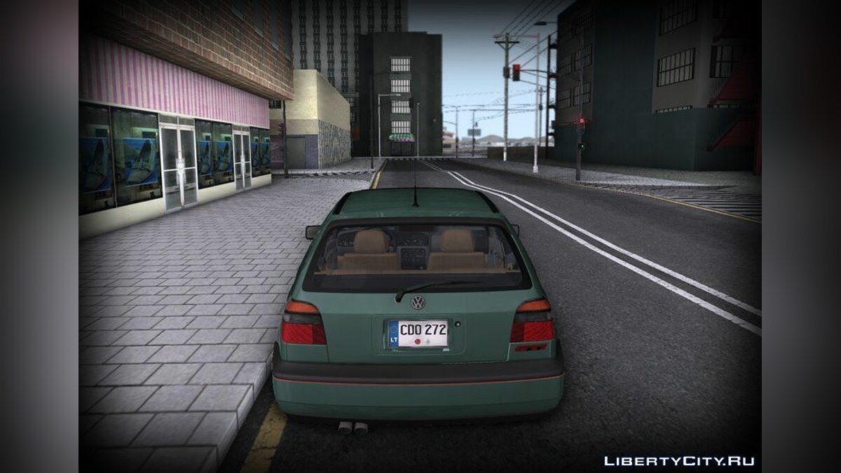 Volkswagen car Volkswagen Golf Mk3 for GTA San Andreas