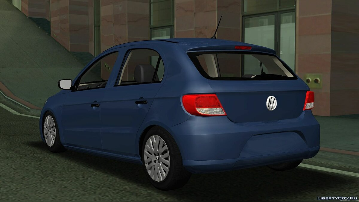 Volkswagen car Volkswagen Gol G5 Trend v1 for GTA San Andreas